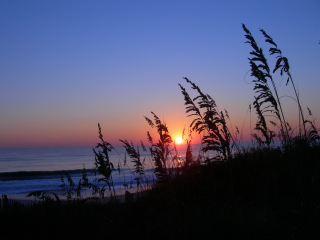 Outer Banks oceanfront sunrise